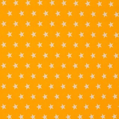 Cotton Poplin - Stars Yellow