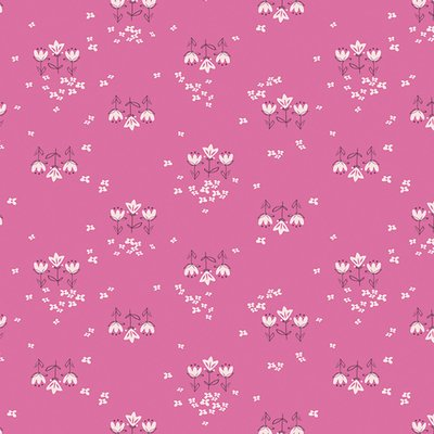 Designer fabric Art Gallery - Posy Chain Pinktense