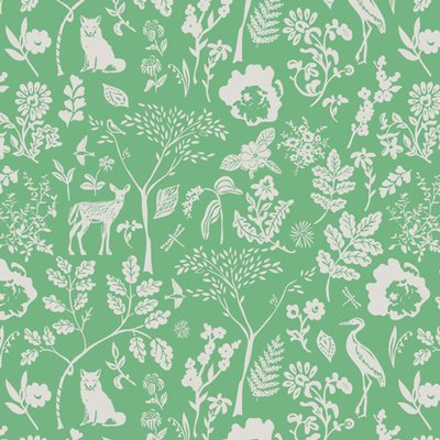 Designer fabric Art Gallery - Flora And Fauna