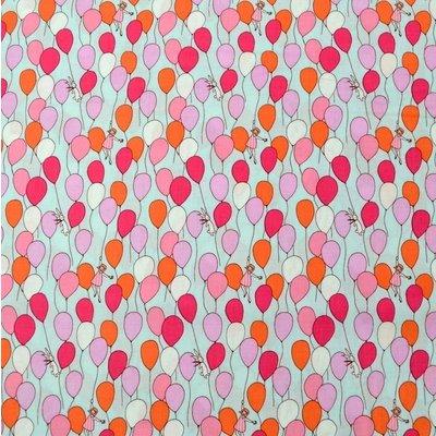Designer fabric Michael Miller - Balloons Aqua