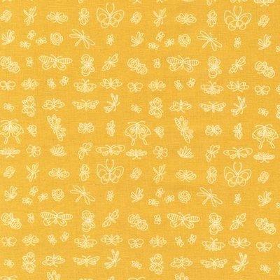 Designer fabric Michael Miller -Enjoy The Little Things Honey