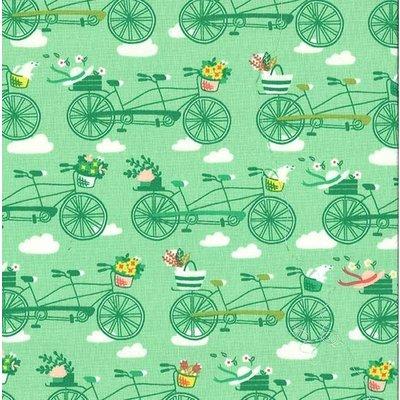 Designer fabric Michael Miller -To Market Grass