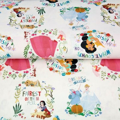 Digital printed cotton - Disney Princess