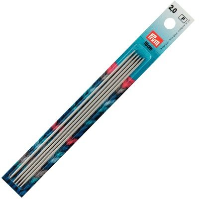 Double-pointed knitting needles 15 cm -  for gloves and socks