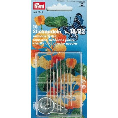 Embroidery Needles Set - 16 pieces