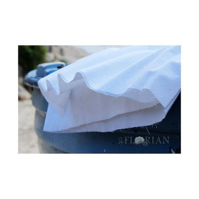 Extrawide Cotton Gauze - Carpatin White-2.80