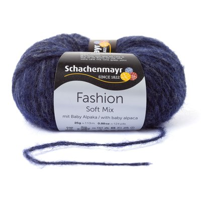 Fashion Soft Mix Yarn - Indigo