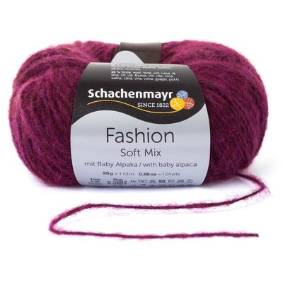 Fashion Soft Mix Yarn - Kardinal