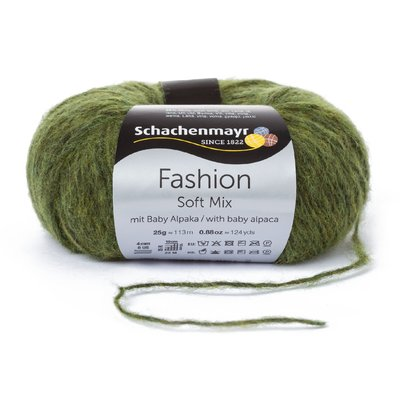Fashion Soft Mix Yarn - Olive
