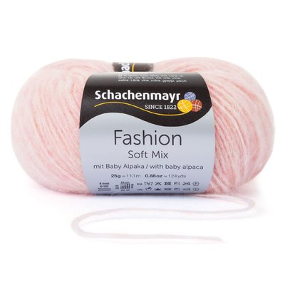 Fashion Soft Mix Yarn - Peach