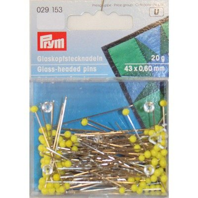 Glass-headed Pins - 20gr