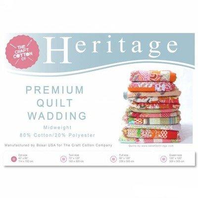 Heritage Poly Cotton Wadding - 114 x 152 cm