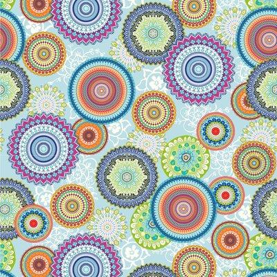 Home Decor Fabric - Mandala Bright