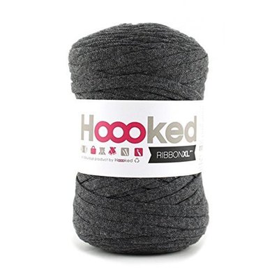 Hoooked Ribbon XL Charcoal Anthracite