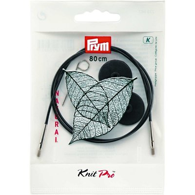 Interchangeable Cord for KnitPro knitting needles - 80 cm