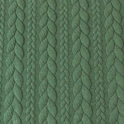 Jacquard Cable Knit - Green