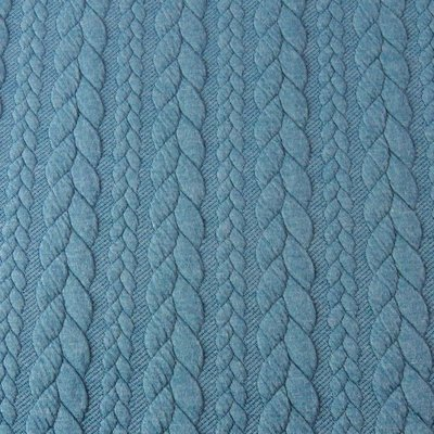 Jacquard Cable Knit - Petrol