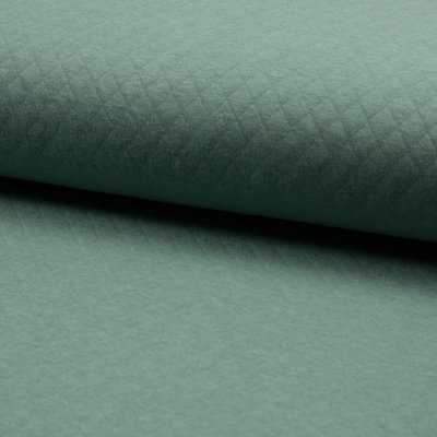 Jersey Cotton Diamond - Dusty Mint