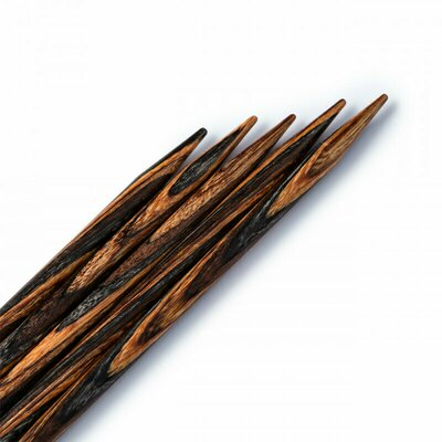 KnitPro - Wood double pointed knitting pins - nr 5