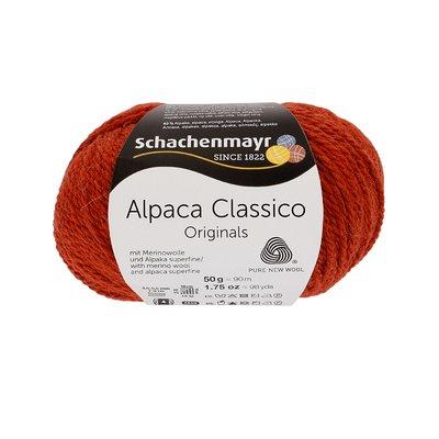 Knitting Yarn - Alpaca Classico - Rust 00012