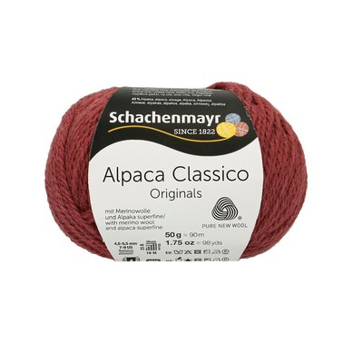 Knitting Yarn - Alpaca Classico - Winter Mauve 00041