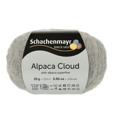 Knitting Yarn - Alpaca Cloud - Feather