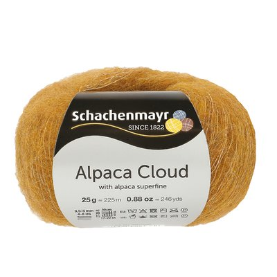 Knitting Yarn - Alpaca Cloud - Gold