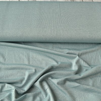 Lightweight Viscose Jersey - Sparkling Dusty Mint