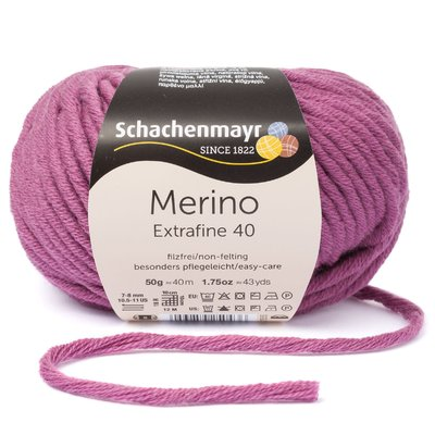 Merino Wool Yarn - Extrafine 40 - Nostalgy