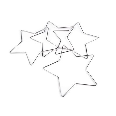 Metal star for dreamcatchers - 20 cm diam