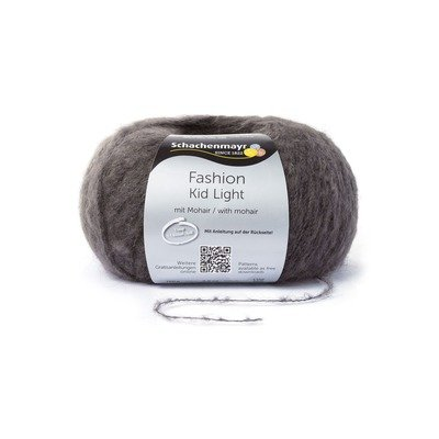 Mohair Yarn - Kid Light - Anthracit 000098