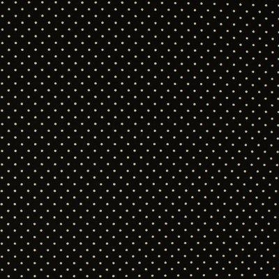 Poplin Mini Dots Black