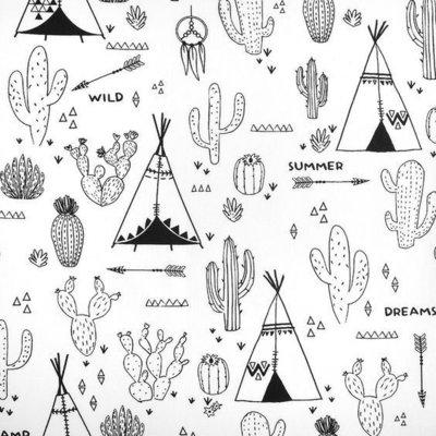 Printed cotton- Apache
