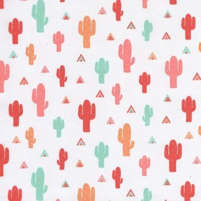 Printed cotton - Be Brave Cactus