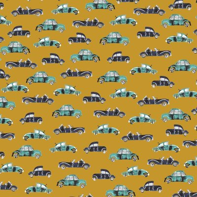 Printed Cotton -  Cool Cars