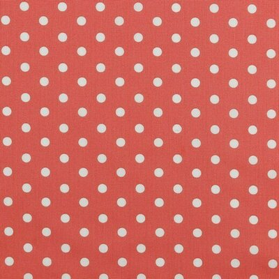 Printed Cotton - Dots Coral