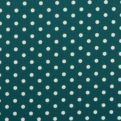 Printed Cotton - Dots Petrol