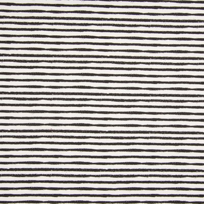 Printed Cotton Jersey - Horizontal Stripes