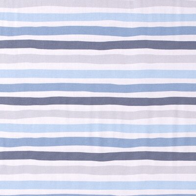 Printed Cotton Jersey - Stripes Blue