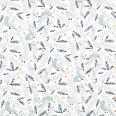 Printed Cotton - Nirona Celadon