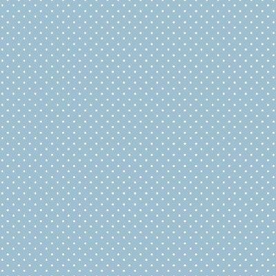 Printed Cotton - Petit Dots Blue