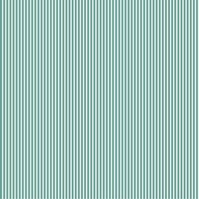 Printed Cotton poplin - Petit Stripe Old Green