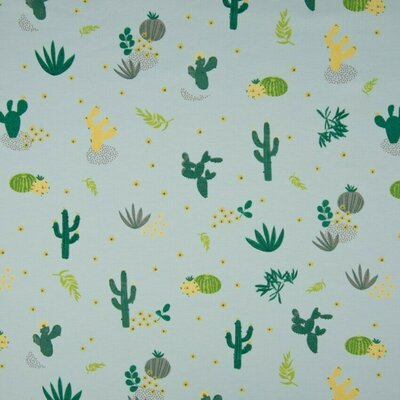 Printed Jersey - Desert Flora
