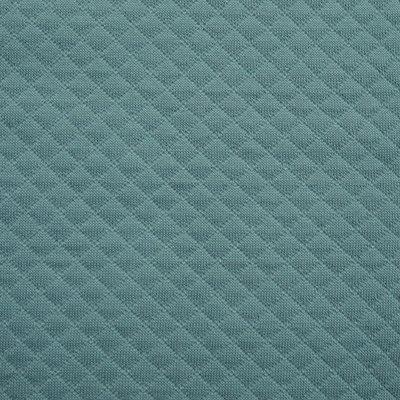 Quilted Cotton Jersey- Mini diamond Eucaliptus