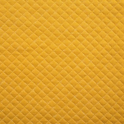 Quilted Cotton  Jersey- Mini diamond Ocre