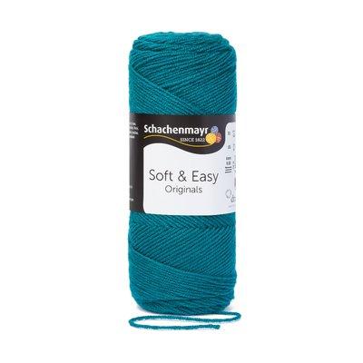 Soft & Easy Yarn - Petrol - 100g