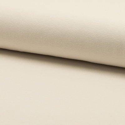 Solid Cotton jersey - Ivory