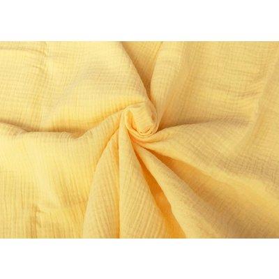 Solid double gauze - Soft Yellow