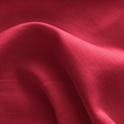 Solid Linen - Red