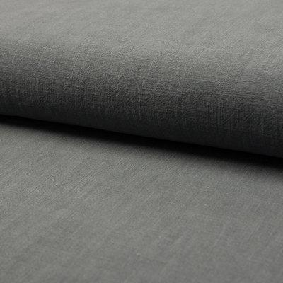 Stonewashed linen - Antracit